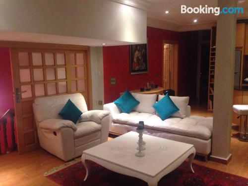 Apartment in Casablanca. Good choice for 6 or more
