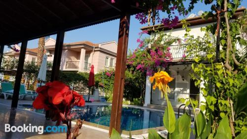 Place in superb location with terrace and wifi