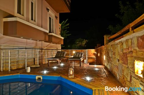 Apartment with terrace. Chios is yours!
