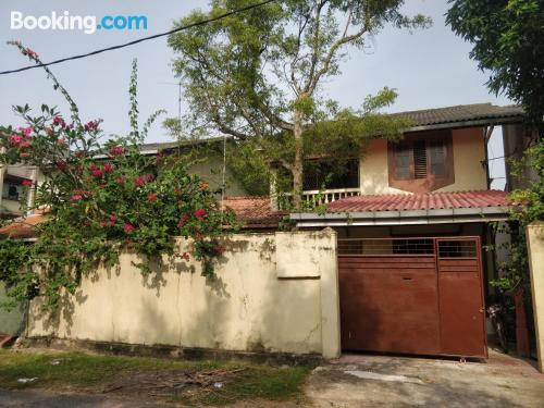 Home for two in Moratuwa with terrace