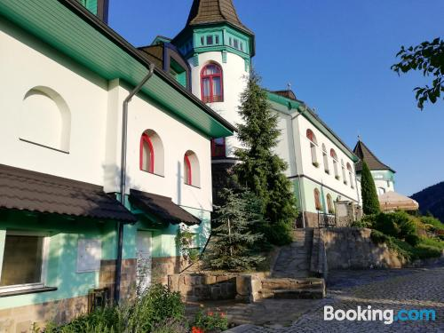 Apartment in Ostravice with terrace and swimming pool.