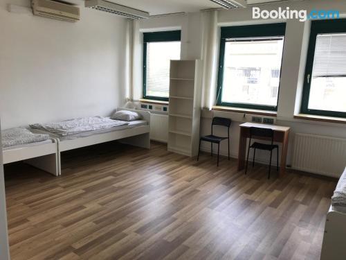Apartamento de una habitación en Budapest para dos personas.