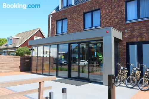 Terrace and wifi home in Aalsmeer. Perfect for one person