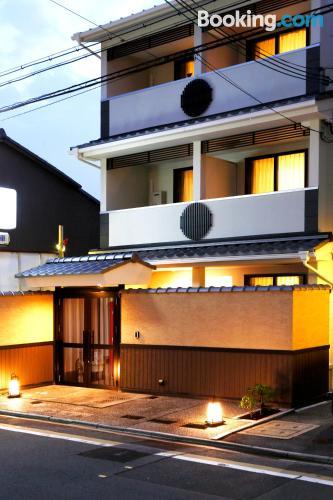 ¡Aire acondicionado! En Kioto