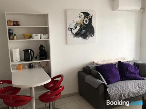 Place in Antibes with swimming pool and terrace.