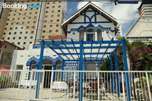 Cuco apartamento en Fortaleza con terraza