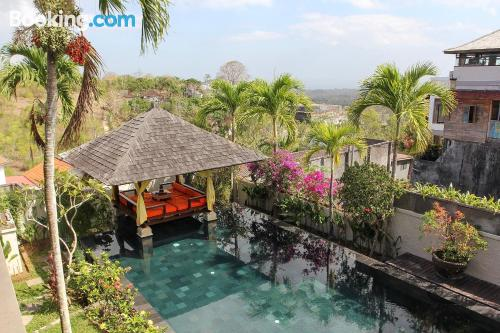 Pool and internet place in Jimbaran. Enjoy your terrace