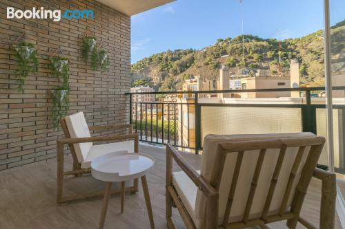 Apartamento con terraza y internet en Málaga de dos dormitorios