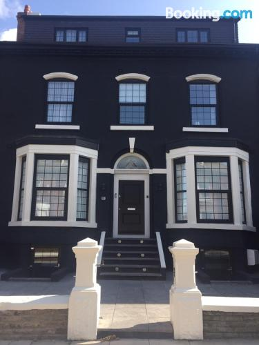 Homey home in Liverpool with one bedroom apartment.