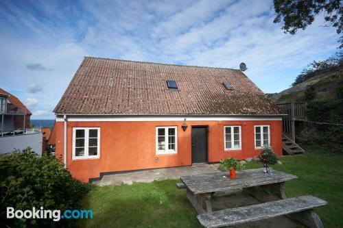 Home in Gudhjem. Absolutely great location
