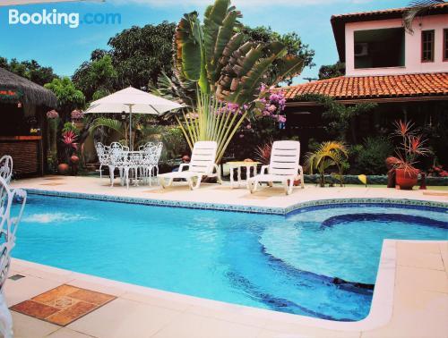 Apartamento con piscina en Santa Cruz Cabrália