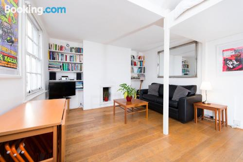 Apartment in London with one bedroom apartment.
