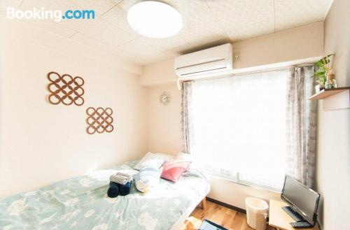 Place for 2 people in Osaka with wifi.