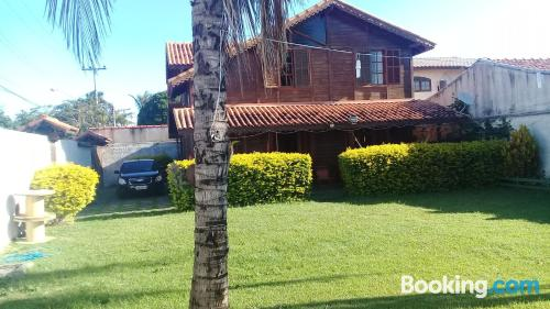 Cabo Frio home with internet