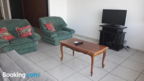 Dog friendly place in incredible location with terrace!.