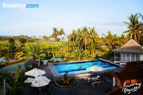 Place with terrace. Gianyar at your feet!