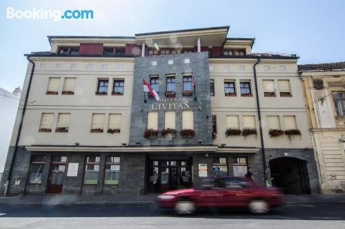 Place for one person in Sopron with terrace!.