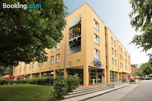 Apartamento con terraza en Hamburgo.