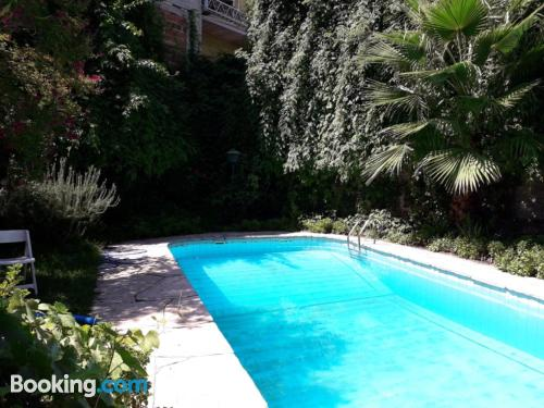 Swimming pool! with 1 bedroom apartment.