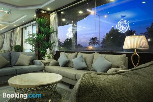 Apartamento con conexión a internet en Riad