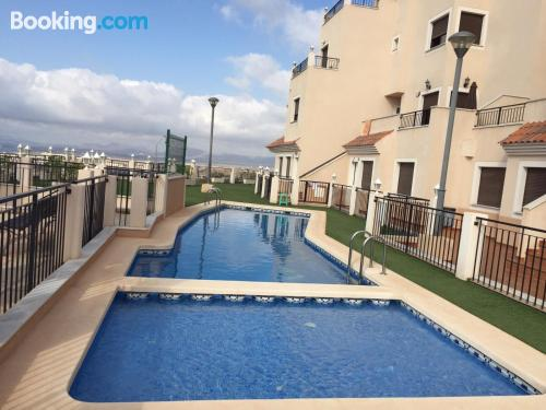 Apartamento con piscina en Aguilas