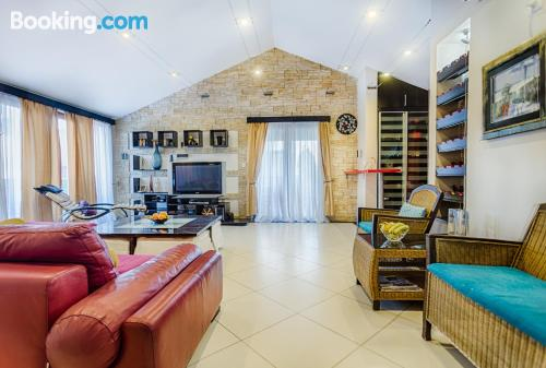 Ideal, two rooms with terrace