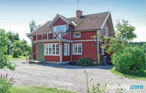 Perfecto, tres habitaciones en Malmköping