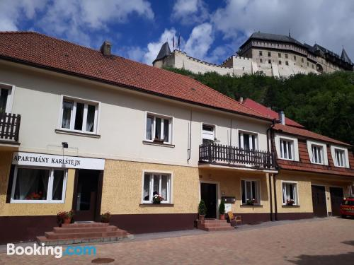 Apartment in Karlštejn with heating