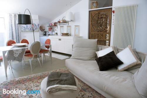 Apartment with terrace in superb location