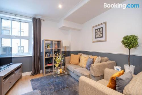 Apartment with internet in London.
