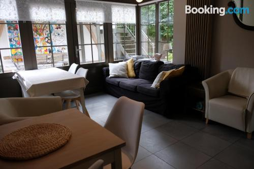 Comfy apartment in Hasselt. Terrace!.