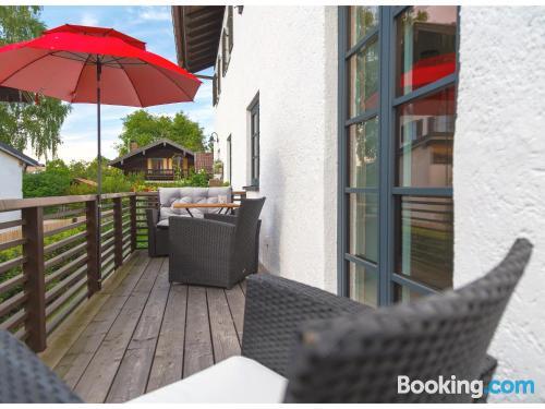 Apartamento céntrico ¡con terraza!.