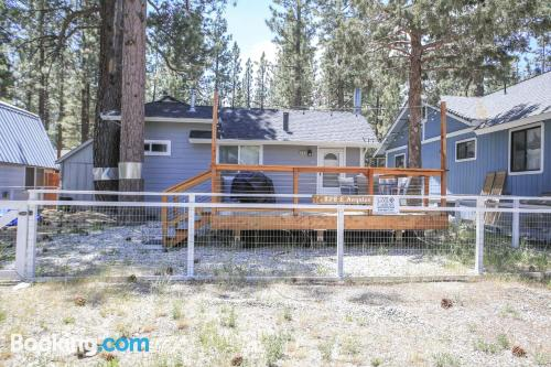 Home in Big Bear Lake with terrace