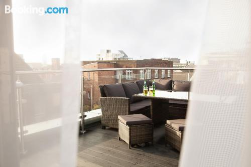 1 bedroom apartment in Liverpool in best location