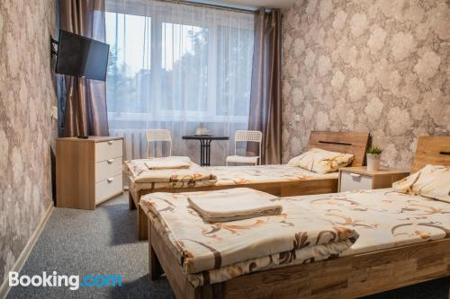 Apartment in Kaunas with heating