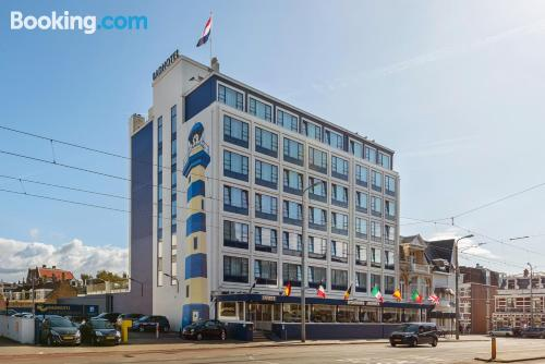 Place in Scheveningen with air-con