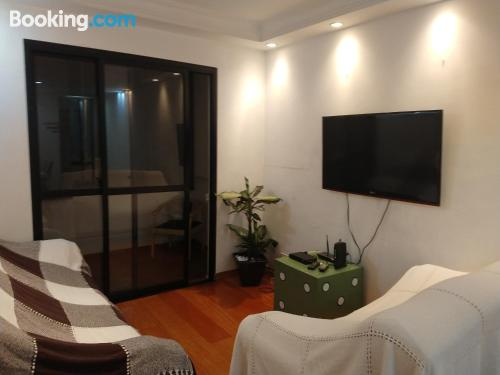 60m2 home in Sao Paulo with wifi.
