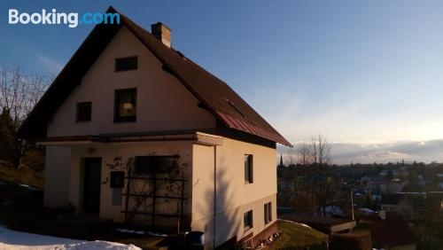2 bedroom apartment in downtown of Vrchlabí