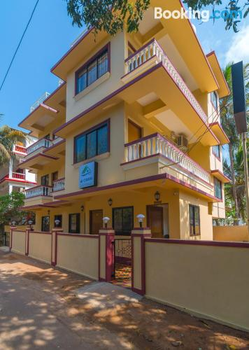 Home in Calangute for 2 people.