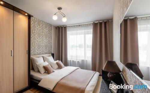 Apartamento de dos habitaciones en Bobruisk ideal para grupos