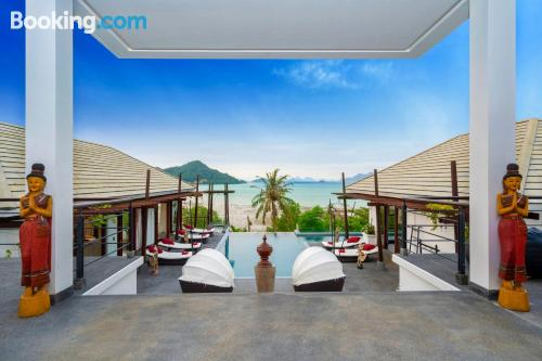 Enormous place in Phuket Town with wifi and terrace.