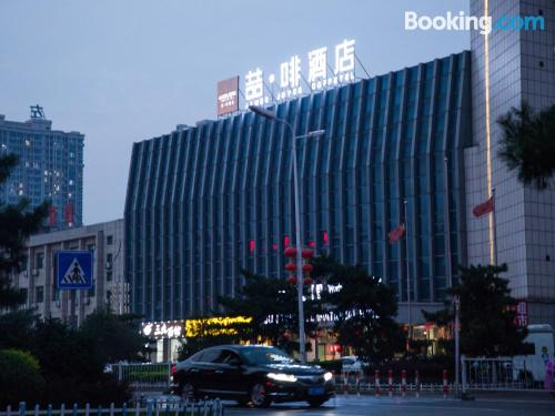 ¡aire acondicionado! en Qinhuangdao.