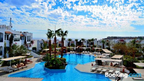Swimming pool and wifi apartment in Sharm El Sheikh. Be cool, there\s air-con!