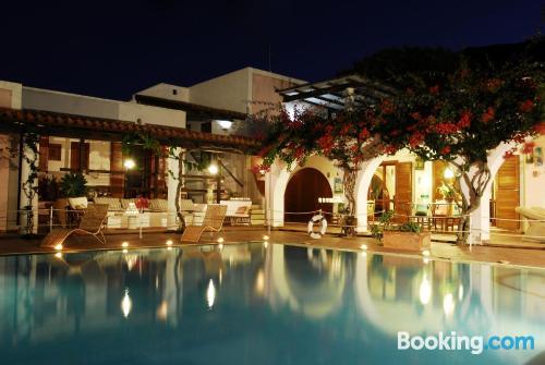 Apartamento con piscina en Vulcano