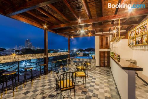 Tiny place in Cartagena de Indias with terrace