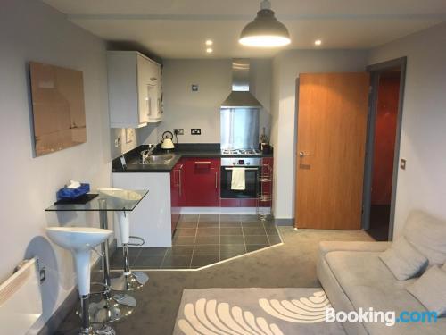 1 bedroom apartment in Birmingham with terrace