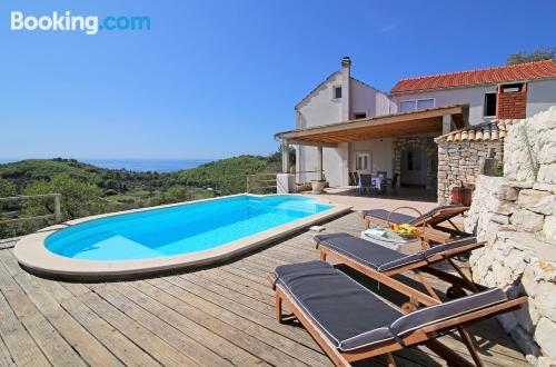 Apartamento en Babino Polje con piscina