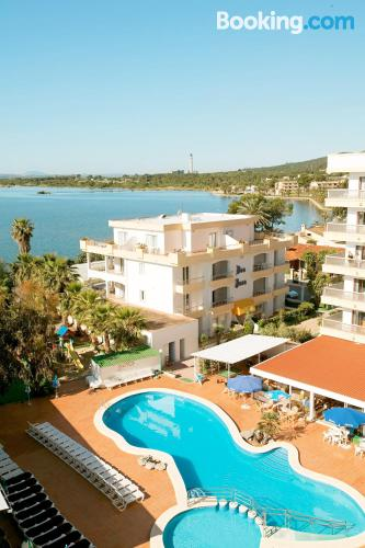 Apartment with terrace. Swimming pool!.