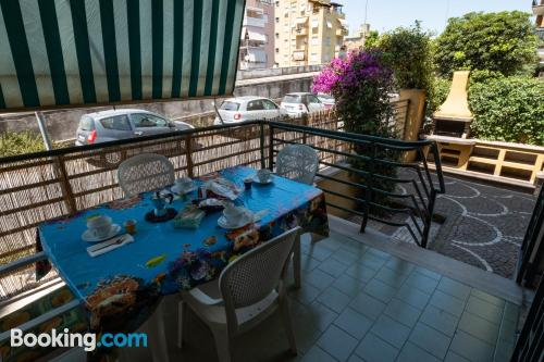 Home in Rome with internet and terrace.