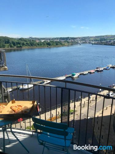 Place in Londonderry with terrace